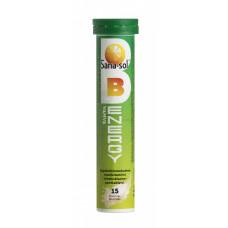 Sana-Sol B-Energy Appelsiini 15 poretablettia