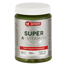 BIOTEEKIN SUPER A-VITAMIINI KAPS 50 KPL