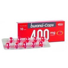 BURANA-CAPS KAPSELI 400MG  Pakkaustyyppi  läpipainopakkaus  Pakkauskoko  10 капс
