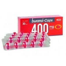BURANA-CAPS KAPSELI 400MG  Pakkaustyyppi  läpipainopakkaus  Pakkauskoko  30 капс
