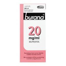 BURANA 20 mg/ml oraalisuspensio 200 ml