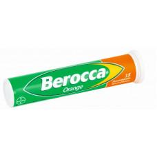 BEROCCA Orange PORETABLETTI  putki  15 kpl
