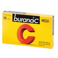 BURANA-C 400/300 mg 10 tab