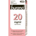 BURANA 20 mg/ml oraalisuspensio 100 ml
