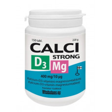 Calci Strong + Magnesium + D3 150 tabl