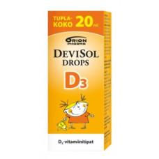 Капли Devisol Drops D3 (Витамин Д - Девисол Дропс) - 20 мл.