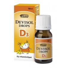 Капли Devisol Drops D3 (Витамин Д - Девисол Дропс) - 10 мл.