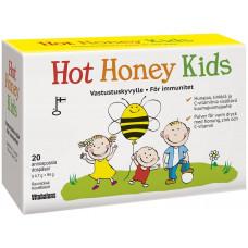 Vitabalans Hot Honey Kids - C-vitamiini - sinkki - hunaja - 20 pss