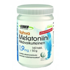 Leader Vahva Melatoniini 1,9 mg 160 tabl.