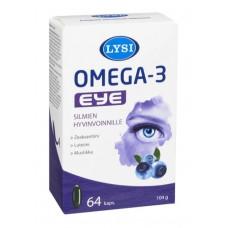 Lysi Omega-3 Eye 64 kaps.
