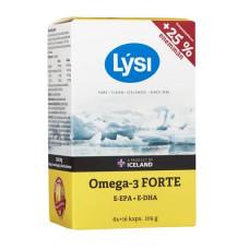 Lysi Omega-3 FORTE kalaöljykapseli 64+16 kaps