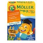 Möller Omega-3 Pikkukalat Hedelmänmakuinen 45 kpl