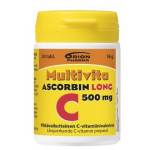 MULTIVITA ASCORBIN LONG 500 MG 50 TABL