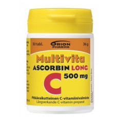 MULTIVITA ASCORBIN LONG 500 MG 50 TABL