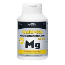MULTIVITA MAGN.SITR. 175mg+B6 APPELSIINI 80 PURUTABL