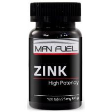 Man Fuel Zink 25 mg 120 таб.