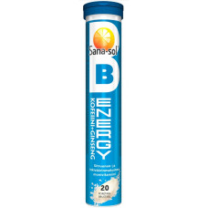 Sana-Sol Energy B + Kofeiini + Ginseng Monivitamiini 20 poretabl.