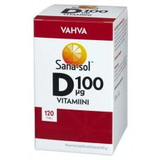 Sana-sol Vahva Vitamiini D 120 таб