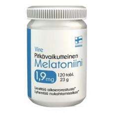 Vire Pitkävaikutteinen Melatoniini 1,9 mg 120 tabl.