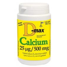 Vitabalans D3+Calcium витамин D 25 мкг + кальций 500 мг - жевательные таблетки 120 табл.