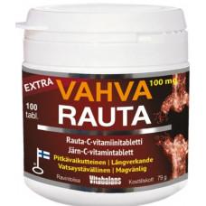 Vitabalans Extra Vahva Rauta 100 mg 100 tbl ravintolisä